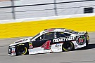 Kevin Harvick's crew chief says brace failure led to bowed rear window