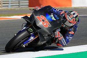 MotoGP Testverslag Viñales snelste op eerste testdag Valencia, Rossi crasht