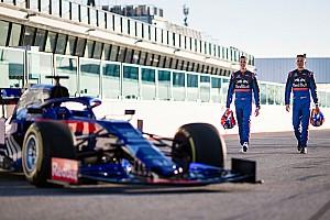 Как прошла обкатка новой Toro Rosso: фото