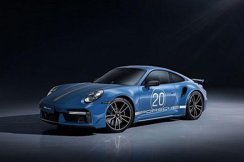 Porsche, una speciale 911 Turbo S per i 20 anni in Cina