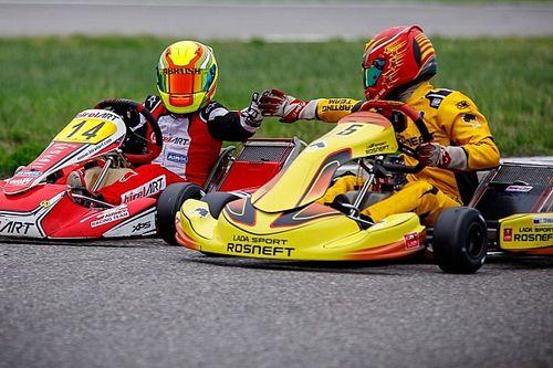 LADA Sport ROSNEFT начала сезон Чемпионата России по картингу со второго места в общем зачете
