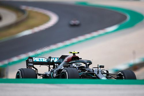 Mercedes explains why it wanted Bottas on hard tyres