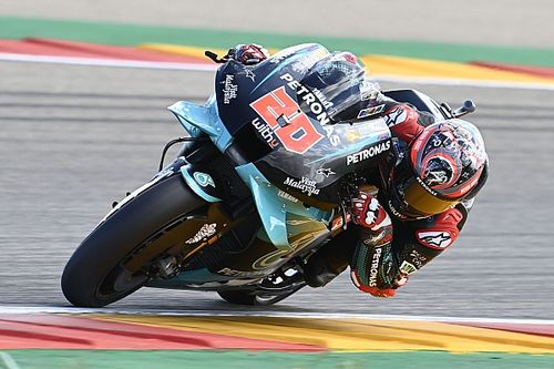 MotoGP: Quartararo diz que ritmo de corrida não é bom para brigar pela vitória