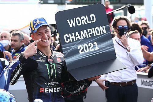 Quartararo es campeón de MotoGP tras caída de Bagnaia en Misano