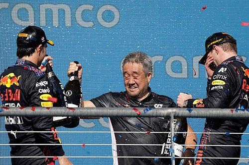 """Honda califica de """"brillante"""" a Verstappen y valora el podio de Pérez"""