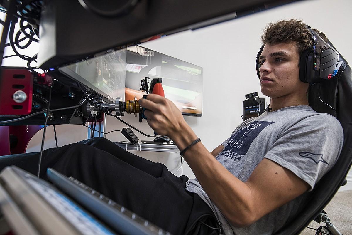 Norris: Simülasyon yarışları beni daha iyi bir F1 sürücüsü haline getirebilir