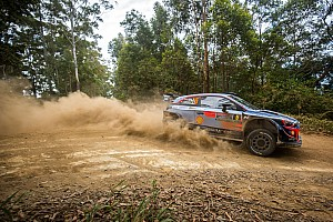Australia WRC: Ostberg retains lead, drama for Neuville