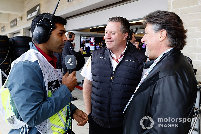 Chandhok returns to Sky F1 coverage from Channel F4