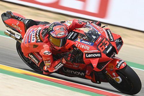 Bagnaia űridővel pole-pozícióban az Aragon GP-n, Ducati 1-2