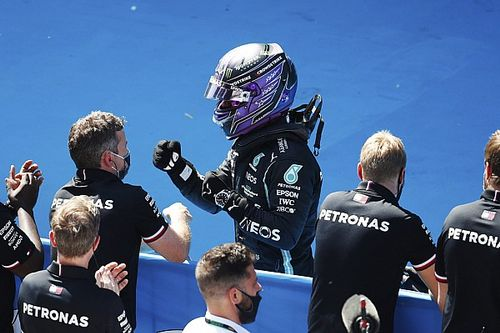 "Hamilton, pole numero 100: ""Sono in estasi"""