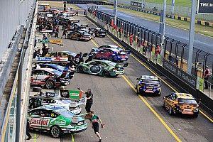 Supercars splits all-in pre-season test
