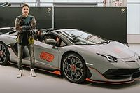 Découvrez la rarissime Lamborghini de Jorge Lorenzo