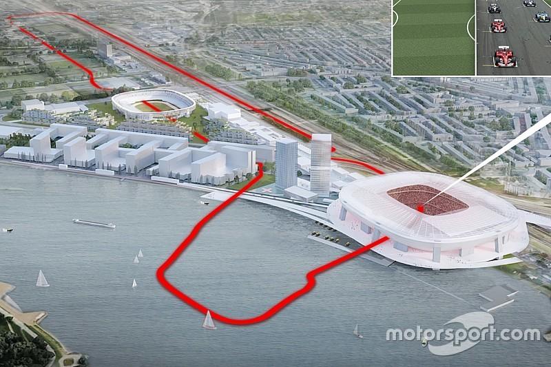 City Racing-organisator komt met lay-out voor stratencircuit Rotterdam
