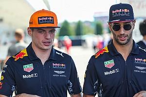 Ricciardo no esperaba ahora la renovación de Verstappen