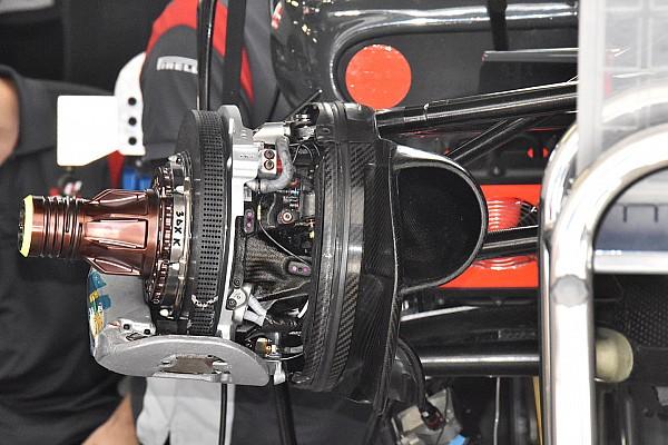 Formule 1 Actualités Haas F1 avec des freins Carbone Industrie au GP de Russie