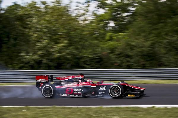 Мацушита выиграл спринт Ф2 в Венгрии