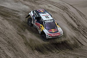 Dakar Breaking news Peugeot boss more impressed with Elena than Loeb