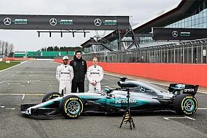 Mercedes'in 2017 F1 aracı W08