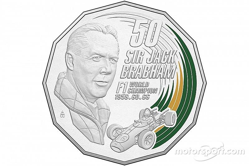 В Австралии выпустят монету в честь Брэбэма