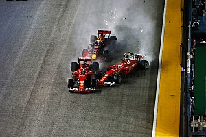 فورمولا 1 أخبار عاجلة لا عقوبات بعد حوادث الانطلاقة في سباق سنغافورة