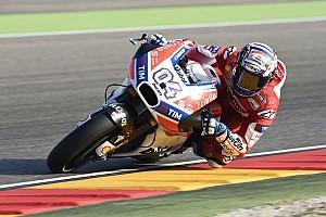 MotoGP Últimas notícias Dovizioso evita drama após derrota para Márquez
