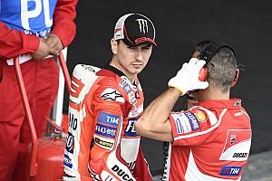 MotoGP Новость Лоренсо рассказал об ошибке, стоившей ему месяцев тестов с Ducati