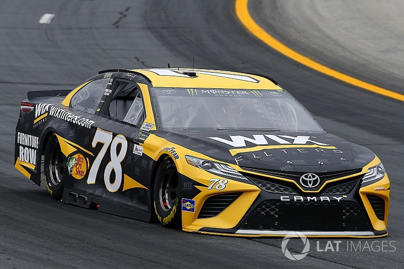 Truex tops second practice session in New Hampshire