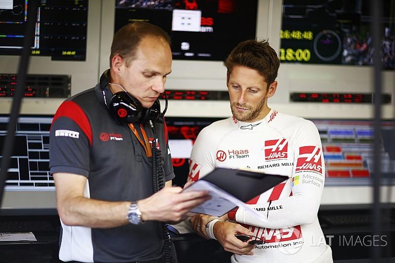 Grosjean cree que puede mejorar si gestiona mejor sus problemas de frenos