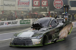 NHRA Qualifying report Dejoria, Torrence, Anderson and Krawiec take top qualifying positions at Four-Wide Nationals