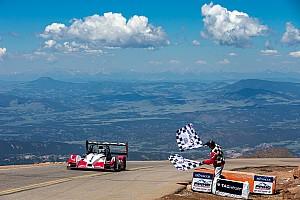 Hillclimb Race report Le Mans winner Dumas conquers Pikes Peak hillclimb again