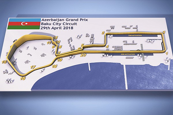 Formula 1 Special feature Azerbaijan Grand Prix: Baku F1 circuit guide