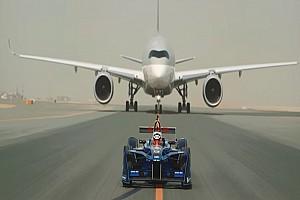 Fórmula E Noticias VIDEO: Fórmula E celebra la asociación con Qatar Airways con una carrera
