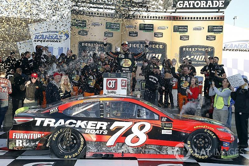 Truex takes emotional win for Furniture Row Racing at Kansas
