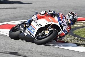 MotoGP Reporte de prácticas Dovizioso aumenta su presión con su mejor tiempo en el warm up