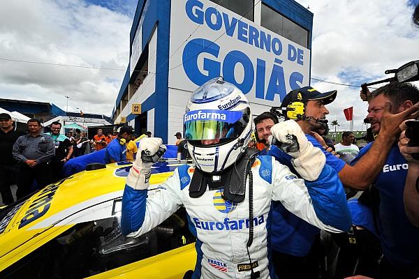 Stock Car Brasil Últimas notícias Com pouco tempo de pista seca, Serra exalta time após pole