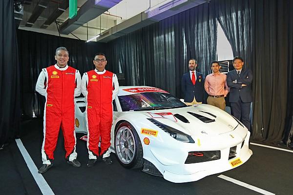 Ferrari Jakarta turunkan tiga mobil di Ferrari Challenge APAC 2018
