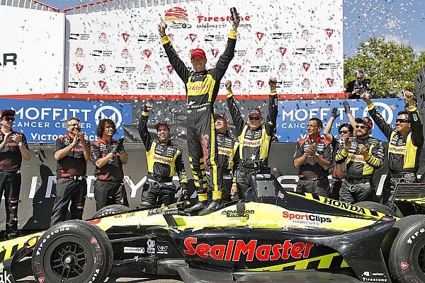 IndyCar Bourdais vence em St. Pete; Tony é 11º e Leist abandona