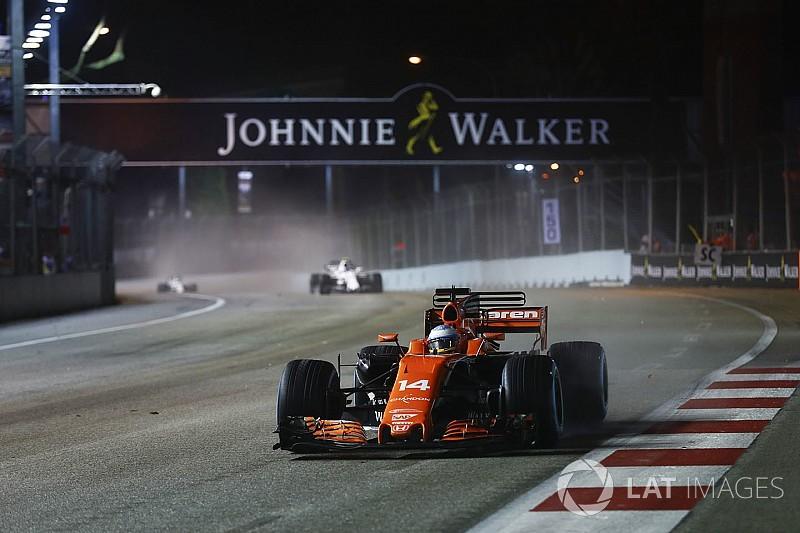 本田确认阿隆索新加坡引擎没受损