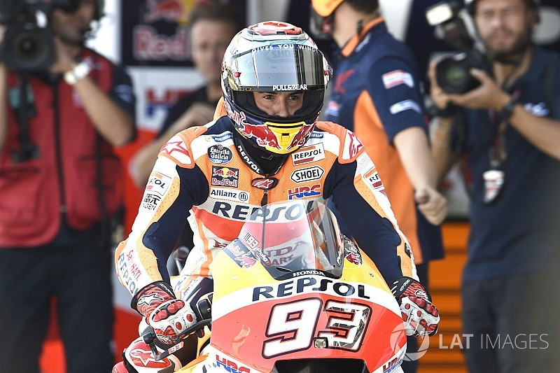 Marquez lega bisa menangi Aragon yang sulit
