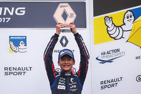Formula Renault 叶一飞首登雷诺方程式领奖台