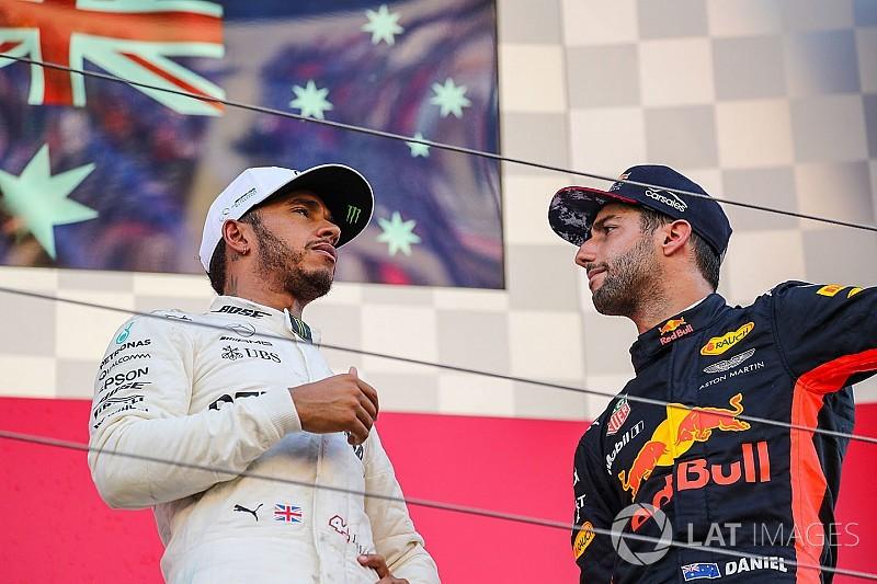 Hamilton: Ricciardo não tem muitas opções para 2019