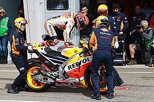 MotoGP Actualités Un nouveau châssis à Brno pour Márquez et Pedrosa