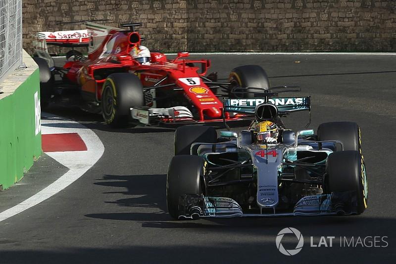 Hamilton dank Kart-Lektion in Baku nicht auf Vettel losgegangen