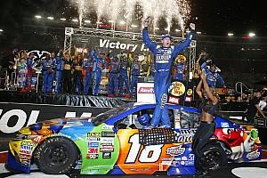 NASCAR Cup Отчет о гонке Кайл Буш выиграл этап NASCAR в Бристоле