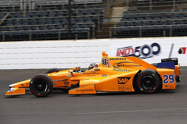 IndyCar Indy 500: Alonso tops practice for Fast Nine contenders
