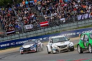 FIA Ralikrossz Eb BRÉKING Nem jött össze a döntős szereplés Szabó Krisztiánnak Belgiumban
