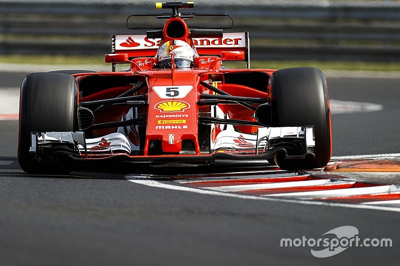 Hungary F1 test: Vettel leads second morning, Kubica seventh