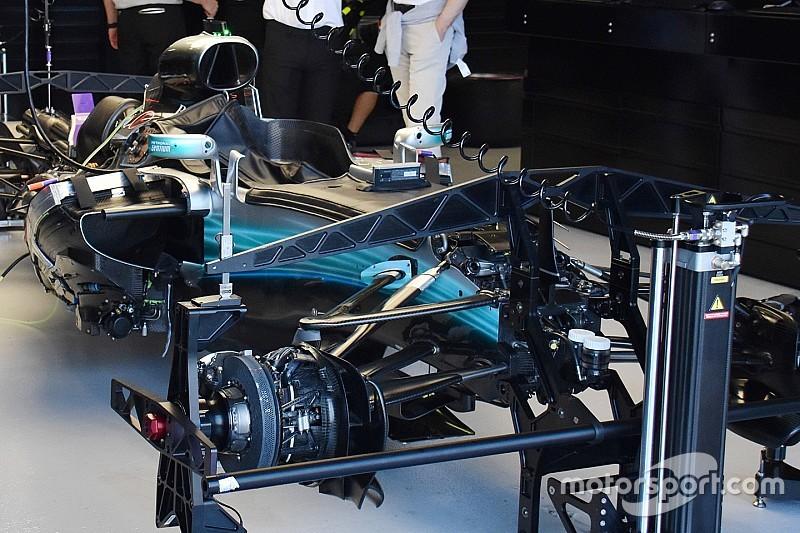 Revealed: Key F1 tech spy shots at Australian GP
