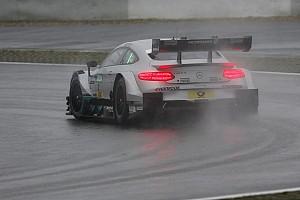 DTM Résumé d'essais EL1 - Paffett le plus rapide sous la pluie