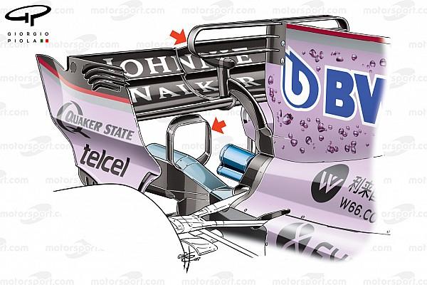 Formula 1 Analisi tecnica: tutte le Formula 1 hanno montato la T-wing!